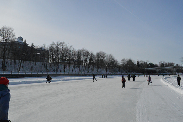Rideau Canal Skateway - Image Credit: Image Credit: https://www.flickr.com/photos/tsmith22/12309588423
