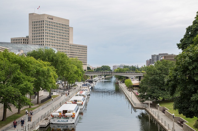 Rideau Canal - Image Credit: https://www.flickr.com/photos/diversey/14579915988